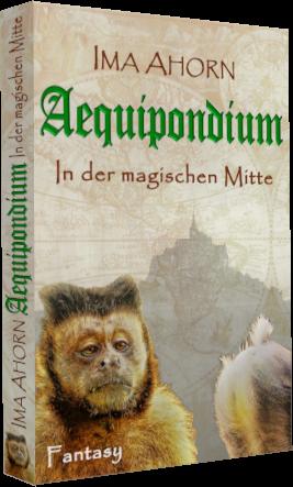 """Buchcover zu """"Aequipondium: In der magischen Mitte"""""""